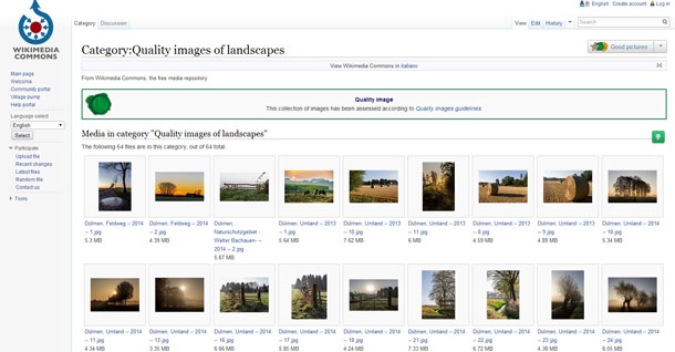 Wikimedia Commons Quality Images